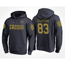 Notre Dame Fighting Irish College Team #83 Chase Claypool Name And Number Hoodie