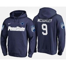 Penn State Nittany Lions College Team #9 Trace McSorley Name And Number Hoodie