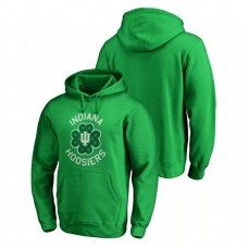 Indiana Hoosiers Kelly Green St. Patrick's Day Fanatics Branded Luck Tradition College Football Hoodie