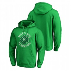 Maryland Terrapins Kelly Green St. Patrick's Day Fanatics Branded Luck Tradition College Football Hoodie