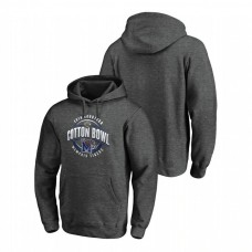 Memphis Tigers 2019 Cotton Bowl Bound Scrimmage Heather Gray College Football Hoodie