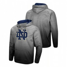 Notre Dame Fighting Irish Heathered Gray Sitwell Sublimated Pullover College Football Hoodie