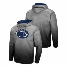 Penn State Nittany Lions Heathered Gray Sitwell Sublimated Pullover College Football Hoodie