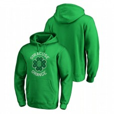 Syracuse Orange Kelly Green St. Patrick's Day Fanatics Branded Luck Tradition College Football Hoodie