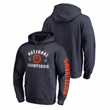 Virginia Cavaliers 2019 Basketball National Champions Dribble Pullover College Football Hoodie - Navy