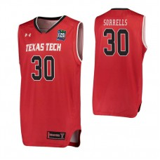 Andrew Sorrells Texas Tech Red Raiders Red 2019 Final Four College Basketball Jersey