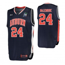 Anfernee McLemore Auburn Tigers Navy 2019 Final Four College Basketball Jersey