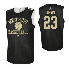 Army Black Knights #23 Aaron Duhart Practice Black Jersey