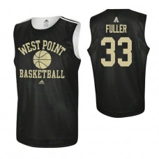 Army Black Knights #33 Cam Fuller Practice Black Jersey