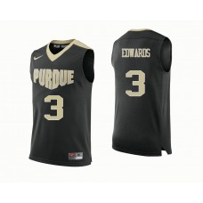 Purdue Boilermakers #3 Carsen Edwards Black College Basketball Jersey