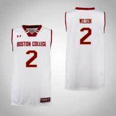 Boston College Eagles #2 Avery Wilson Cardinal College Basketball Jersey