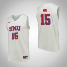 SMU Mustangs #15 Isiaha Mike White College Basketball Jersey
