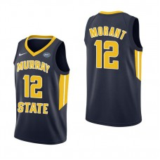Murray State Racers #12 Ja Morant Navy College Basketball Jersey