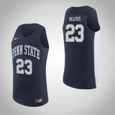 Penn State Nittany Lions #23 Josh Reaves Navy College Basketball Jersey