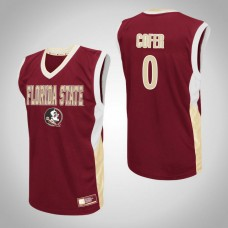 Florida State Seminoles #0 Phil Cofer Red College Basketball Jersey