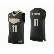 Purdue Boilermakers #11 P.J. Thompson Black College Basketball Jersey