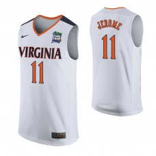 Virginia Cavaliers #11 Ty Jerome White 2019 Final Four College Basketball Jersey