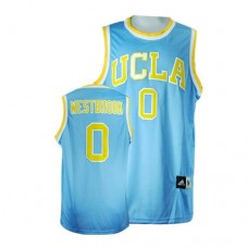 UCLA Bruins #0 Russell Westbrook Blue Authentic College Basketball Jersey