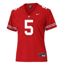 Women's Ohio State Buckeyes #5 Braxton Miller Red Authentic College Football Jersey