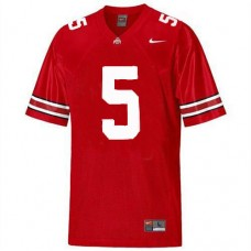 Kid's Ohio State Buckeyes #5 Braxton Miller Red Authentic College Football Jersey