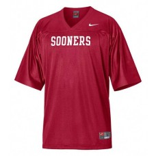 Oklahoma Sooners Blank Red Replica College Football Jersey