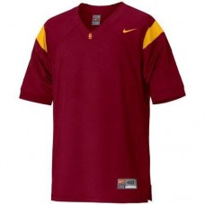 USC Trojans Blank Red Authentic College Football Jersey