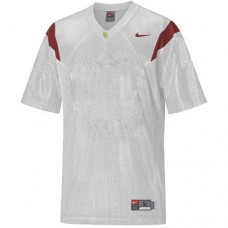 USC Trojans Blank White Authentic College Football Jersey