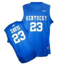 Kentucky Wildcats #23 Anthony Davis Royal Blue Authentic College Basketball Jersey