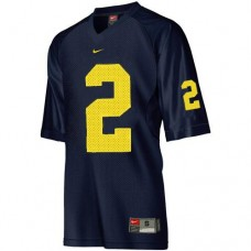 Kid's Michigan Wolverines #2 Charles Woodson Blue Authentic College Football Jersey