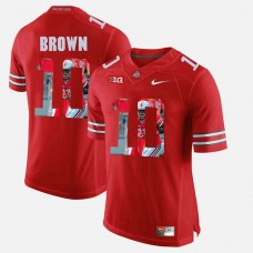 Ohio State Buckeyes #10 CaCorey Brown Scarlet College Football Jersey