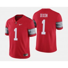 Ohio State Buckeyes #1 Johnnie Dixon Scarlet College Football GAME LIMITED Jersey