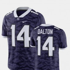 TCU Horned Frogs #14 Andy Dalton Purple College Football GAME Jersey