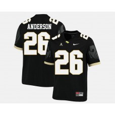 UCF Knights #26 Otis Anderson Black College Football Jersey
