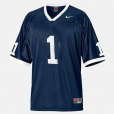 Penn State Nittany Lions #1 Blue College Football Jersey