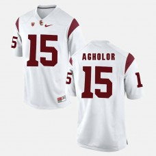 USC Trojans #15 Nelson Agholor White College Football GAME Jersey
